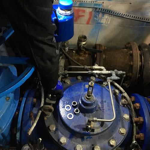 AQP – Conversano (BA) – Intervento manutenzione idrovalvola